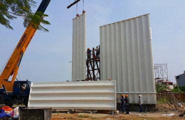 Kỹ thuật thi công lắp dựng mặt dựng GRC, GFRC