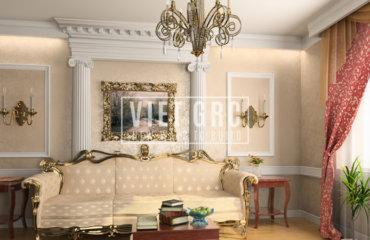 Phào chỉ nhựa GRP trang trí nội thất các công trình xây dựng hiện đại và sang trọng