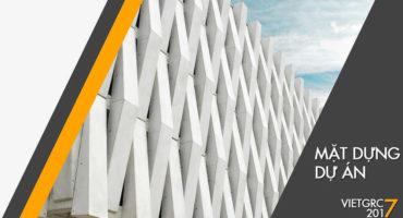 Mặt dựng dự án GRC - VietGRC đơn vị cung cấp GRC hàng đầu VIệt Nam